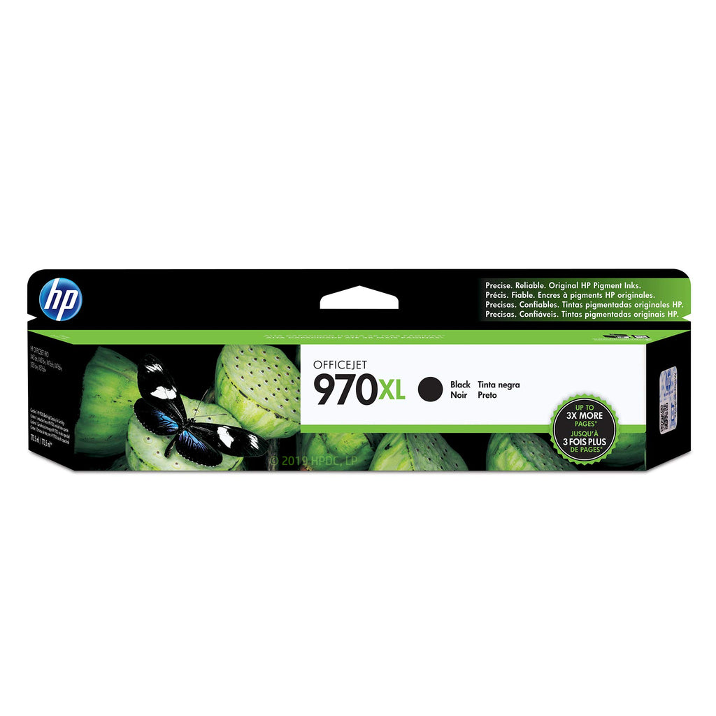 Hewlett Packard 970XL Black Inkjet Cartridge (CN625AM) (Genuine)