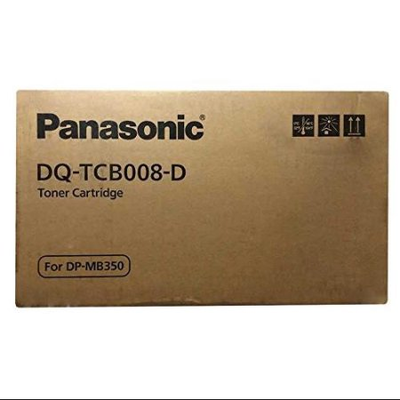 Panasonic DQ-TCB008 Black Laser Toner Cartridge (2 Pack) (Genuine)