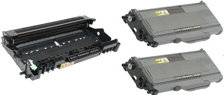 Special Pack of Brother 2-TN360/ TN330 Black High Yield Toner & Drum Unit DR360 (Compatible Cartridge)