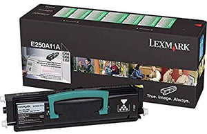 Lexmark E250A11A Black Laser Toner Cartridge (Genuine)