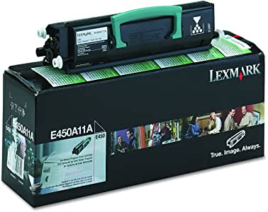 Lexmark E450A11A Black Laser Toner Cartridge (Genuine)