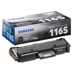 Samsung MLT-D116S Black Laser Toner Cartridge (Genuine)