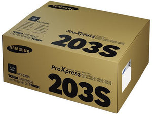 Samsung MLT-D203S Black Laser Toner Cartridge (Genuine)