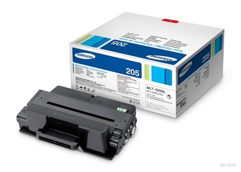 Samsung MLT-D205L Black High Yield Laser Toner Cartridge (Genuine)