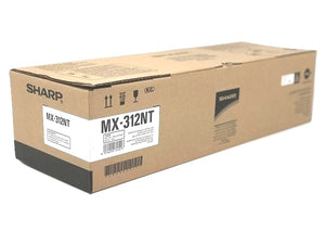 Sharp MX-312NT Black Laser Toner Cartridge (Genuine)