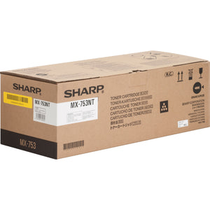 Sharp MX-753NT Black Laser Toner Cartridge (Genuine)