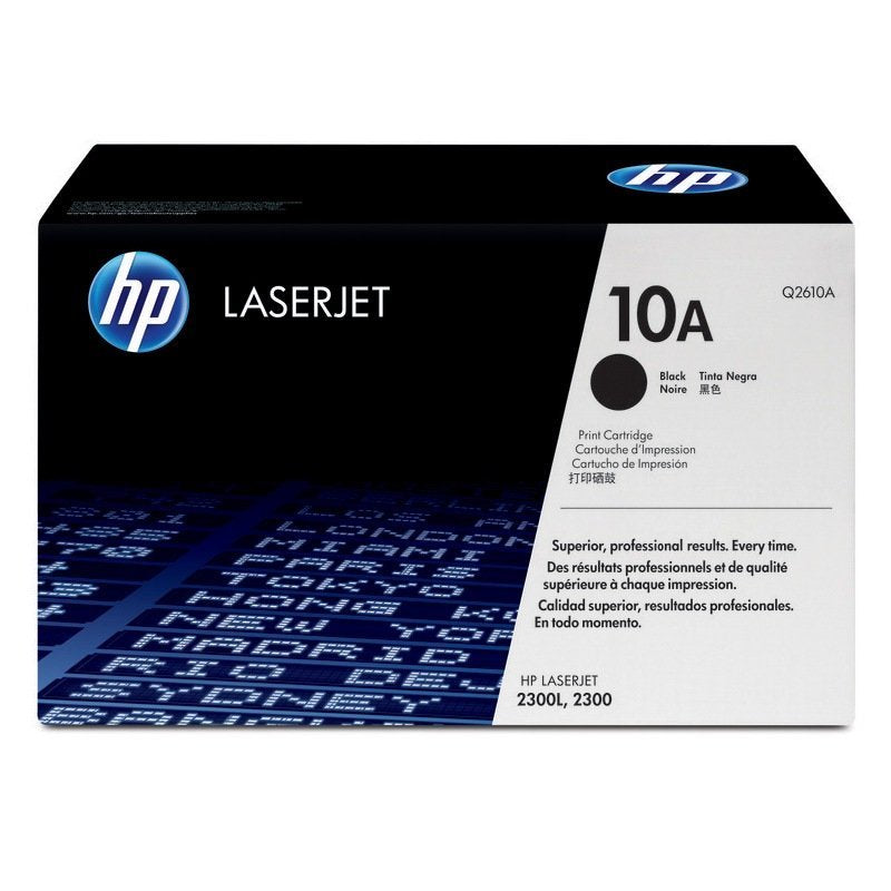 Hewlett Packard Q2610A Laser Toner Cartridge (10A) (Genuine)