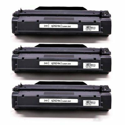 Hewlett Packard Q2624X Laser Compatible Toner Cartridge (24X)