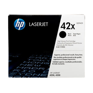 Hewlett Packard Q5942X Laser Toner Cartridge (42X) (Genuine)
