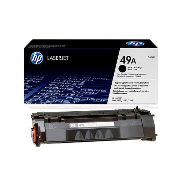 Hewlett Packard Q5949A Laser Toner Cartridge (49A) (Genuine)