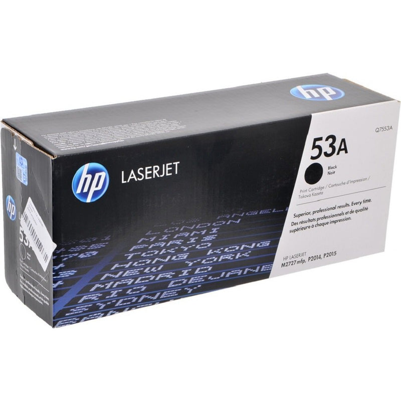 Hewlett Packard Q7553A Laser Toner Cartridge (53A) (Genuine)