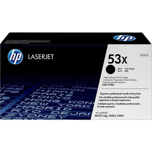 Hewlett Packard Q7553X Laser Toner Cartridge (53X) (Genuine)