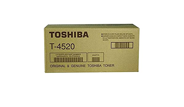 Toshiba T4520 Black Laser Toner Cartridge (Genuine)