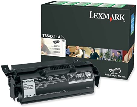 Lexmark T654X11A Black Extra High Yield Laser Toner Cartridge (Genuine)