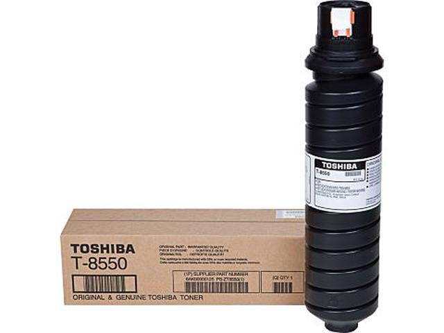 Toshiba T8550 Black Laser Toner Cartridge (Genuine)