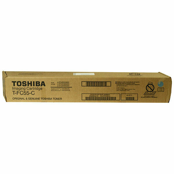 Toshiba TFC55K Black Laser Toner Cartridge (Genuine)