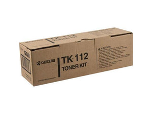 Kyocera-Mita TK112 Black Laser Toner Cartridge (Genuine)