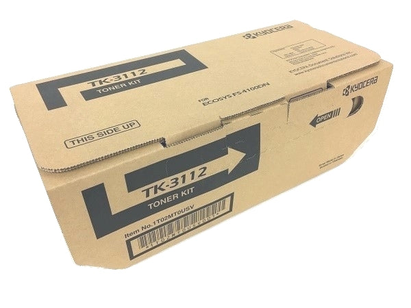 Kyocera-Mita TK3112 Black Laser Toner Cartridge (Genuine)