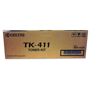 Kyocera-Mita TK411 Black Laser Toner Cartridge (Genuine)