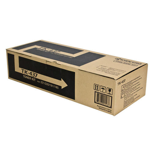 Kyocera-Mita TK437 Black Laser Toner Cartridge (Genuine)