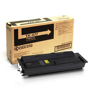 Kyocera-Mita TK477 Black Laser Toner Cartridge (Genuine)