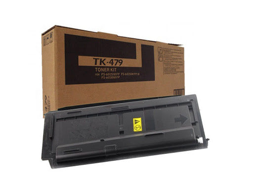 Kyocera-Mita TK479 Black Laser Toner Cartridge (Genuine)