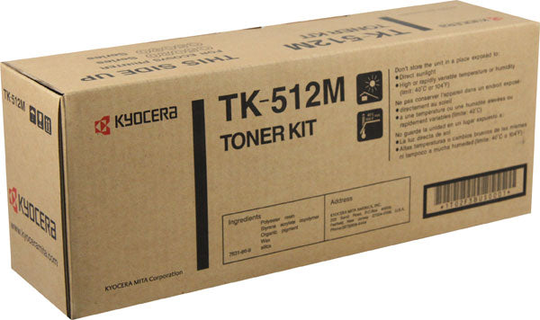 Kyocera-Mita TK512K Black Laser Toner Cartridge (Genuine)