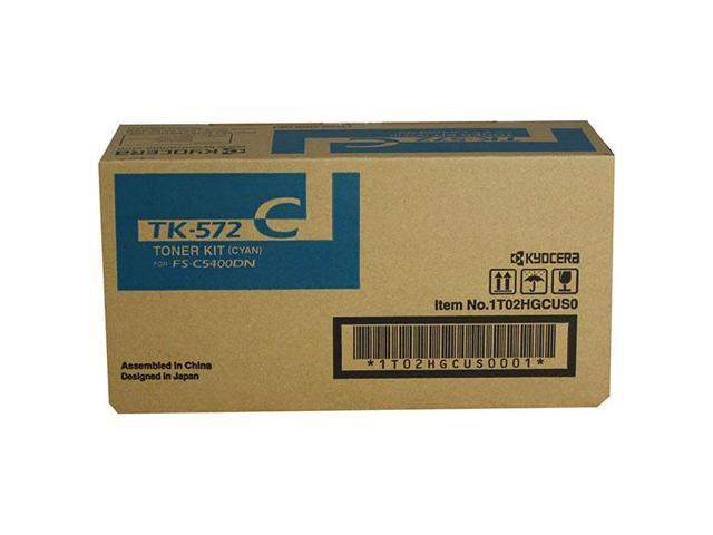 Kyocera-Mita TK572K Black Laser Toner Cartridge (Genuine)