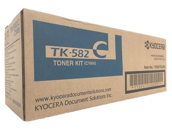 Kyocera-Mita TK582K Black Laser Toner Cartridge (Genuine)
