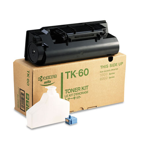 Kyocera-Mita TK60 Black Laser Toner Cartridge (Genuine)