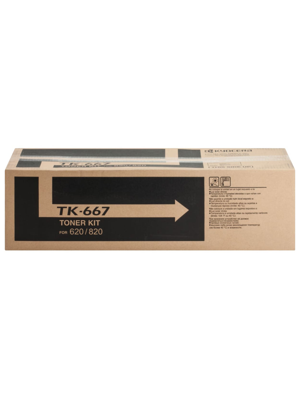 Kyocera-Mita TK667 Black Laser Toner Cartridge (Genuine)