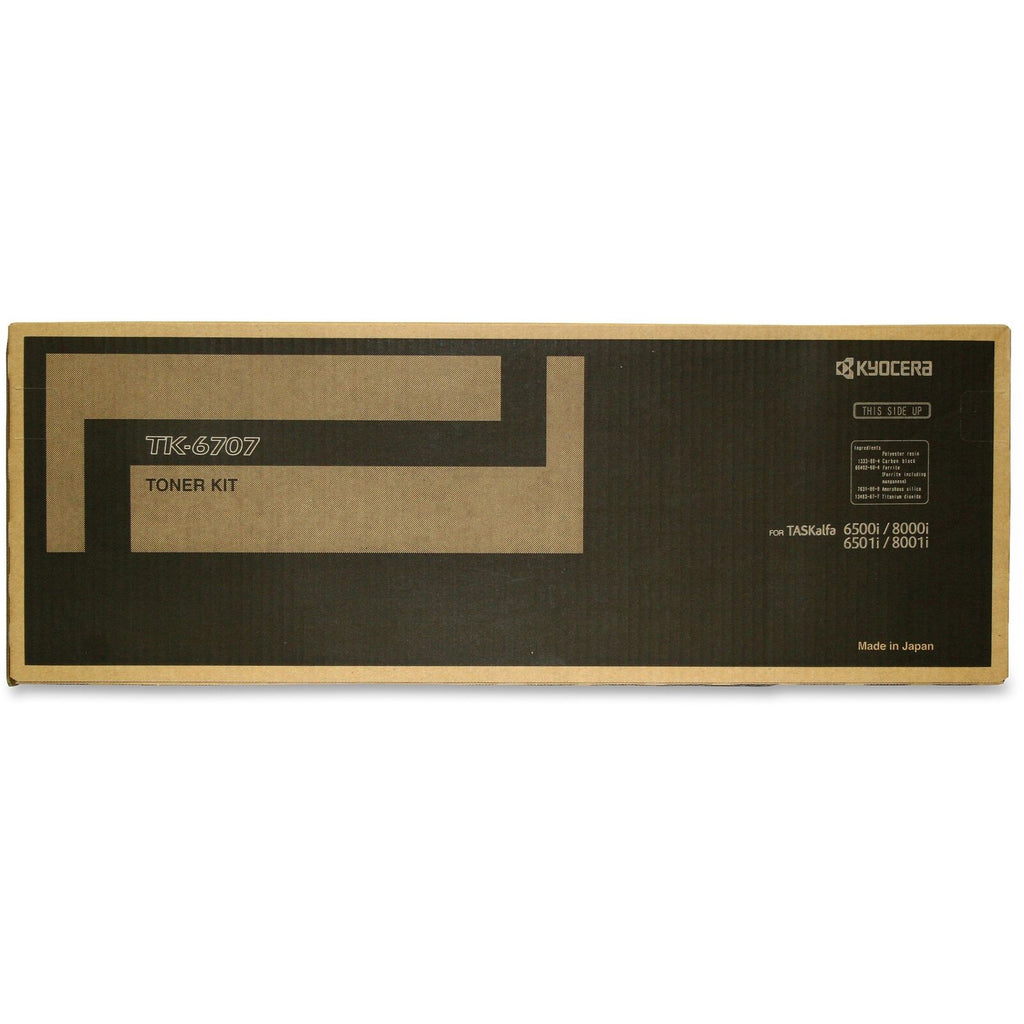 Kyocera-Mita TK6707 Black Laser Toner Cartridge (Genuine)
