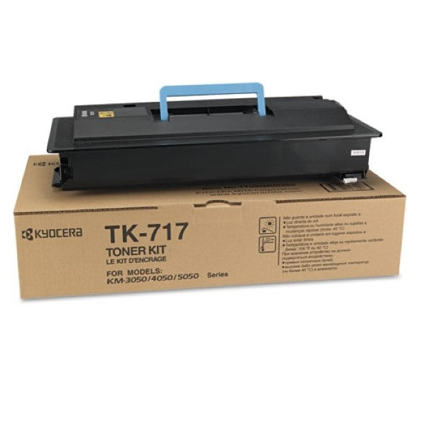Kyocera-Mita TK717 Black Laser Toner Cartridge