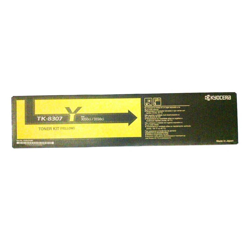 Kyocera-Mita TK8307K Black Laser Toner Cartridge (Genuine)