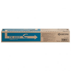 Kyocera-Mita TK8317K Black Laser Toner Cartridge (Genuine)