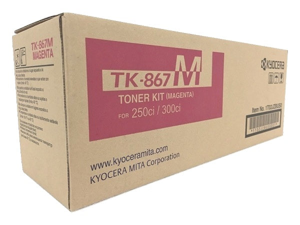 Kyocera-Mita TK867K Black Laser Toner Cartridge (Genuine)