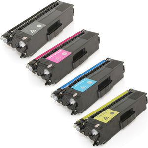 Value Set of 4 Brother TN-315 High Yield Toners: Black / Cyan / Magenta / Yellow (Compatible Toner Cartridges)