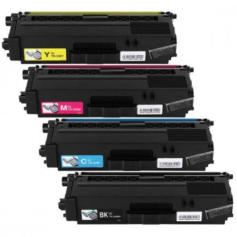 Value Set of 4 Brother TN-336 High Yield Toners: Black / Cyan / Magenta / Yellow (Compatible Toner Cartridges)