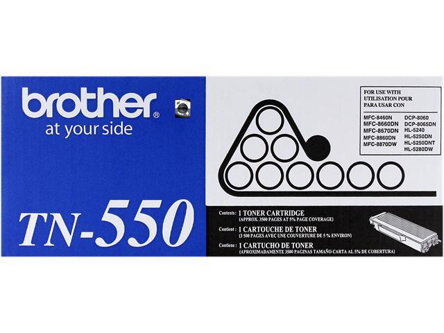 Brother TN550 Laser Toner Cartridge (Genuine)