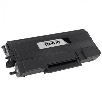 Brother TN670 Black Laser Toner Cartridge (Compatible Cartridge)