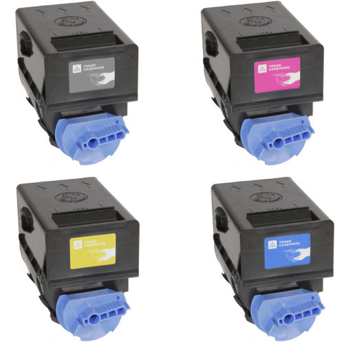 Value Set of 4 Canon GPR23 Toners: Black / Cyan / Magenta / Yellow (Compatible Toner Cartridges)