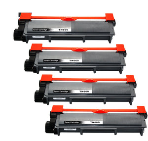 Brother TN-660/TN630 Black Hi-Yield Toner Cartridge (Compatible Cartridge)