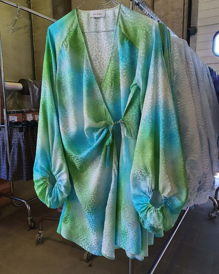🌈 Brooke tie dye - blue & green 🌈