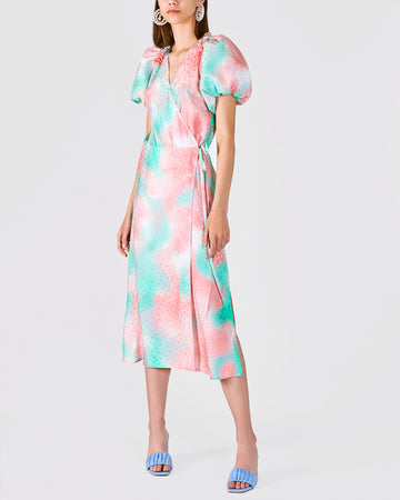 Spring bouquet Midi Dress