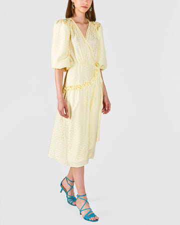 Lemon Meringue Midi dress - Atelier