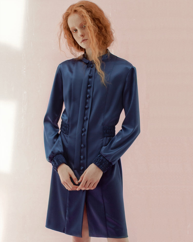 Archive Jeanne Dress 08/12 - Navy Blue Collection One