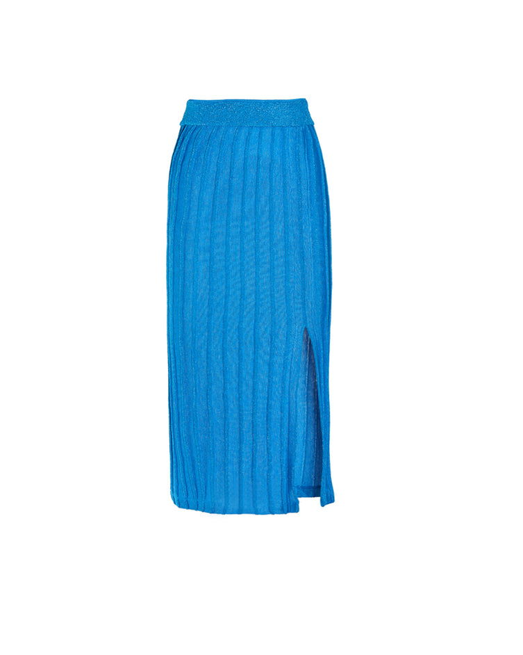 """The More Knits, the Merrier"" Skirt - Turquoise"