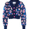 Load image into Gallery viewer, Betty Knit Cardigan - Flower print