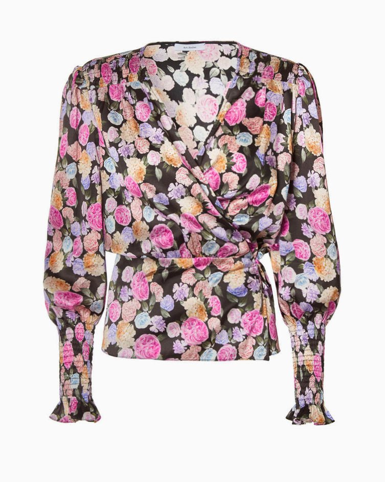 Dolores top - flower print