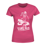 Take A Break - Ladies Crew Neck